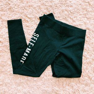 """American Eagle Outfitters Pants & Jumpsuits - Aerie x Iskra Lawrence Black """"Self-Made"""" Leggings"""